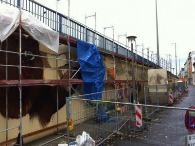 Grafitti-Projekt: Lichtenberger Brücke 10