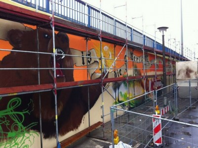 Grafitti-Projekt: Lichtenberger Brücke 11
