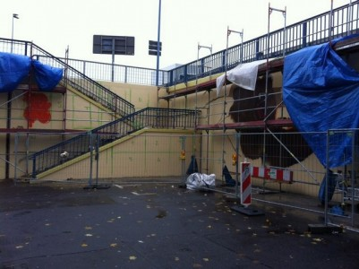 Grafitti-Projekt: Lichtenberger Brücke 9