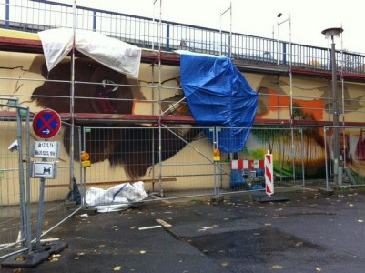 Grafitti-Projekt: Lichtenberger Brücke 19