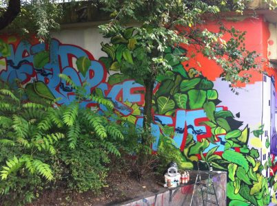 Grafitti-Projekt: Lichtenberger Brücke 20