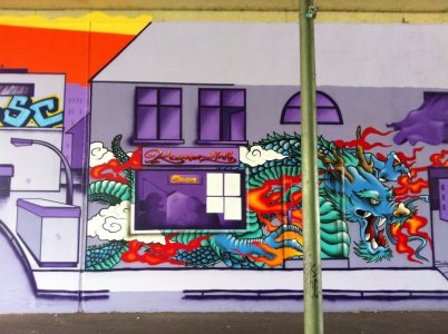Grafitti-Projekt: Lichtenberger Brücke 25
