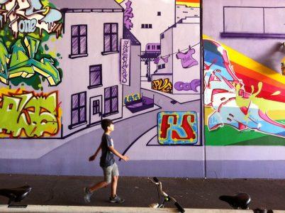 Grafitti-Projekt: Lichtenberger Brücke 28