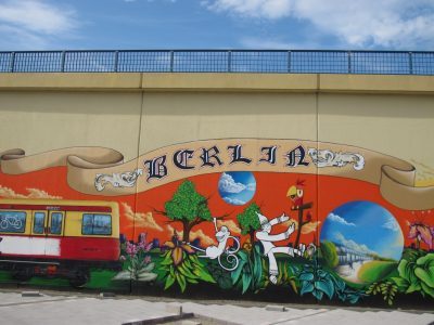 Grafitti-Projekt: Lichtenberger Brücke 3