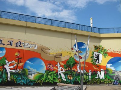 Grafitti-Projekt: Lichtenberger Brücke 4
