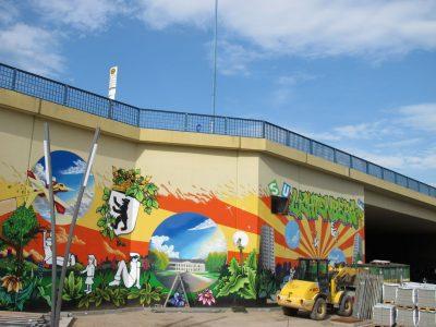 Grafitti-Projekt: Lichtenberger Brücke 5