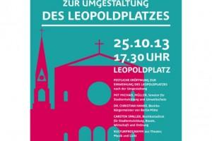 Einweihungsfest auf dem Leopoldplatz 8