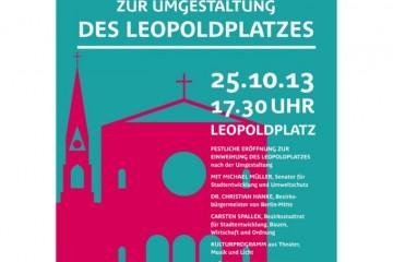 Einweihungsfest auf dem Leopoldplatz 3