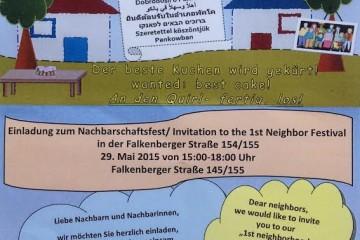 Fest der Nachbarn in Pankow/Weißensee 1