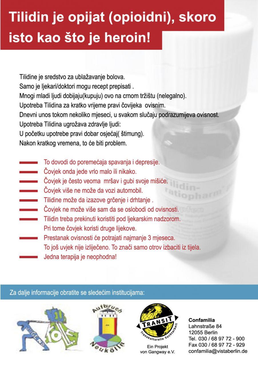 Ibuprofen zusammen man darf nehmen und tilidin Darf man