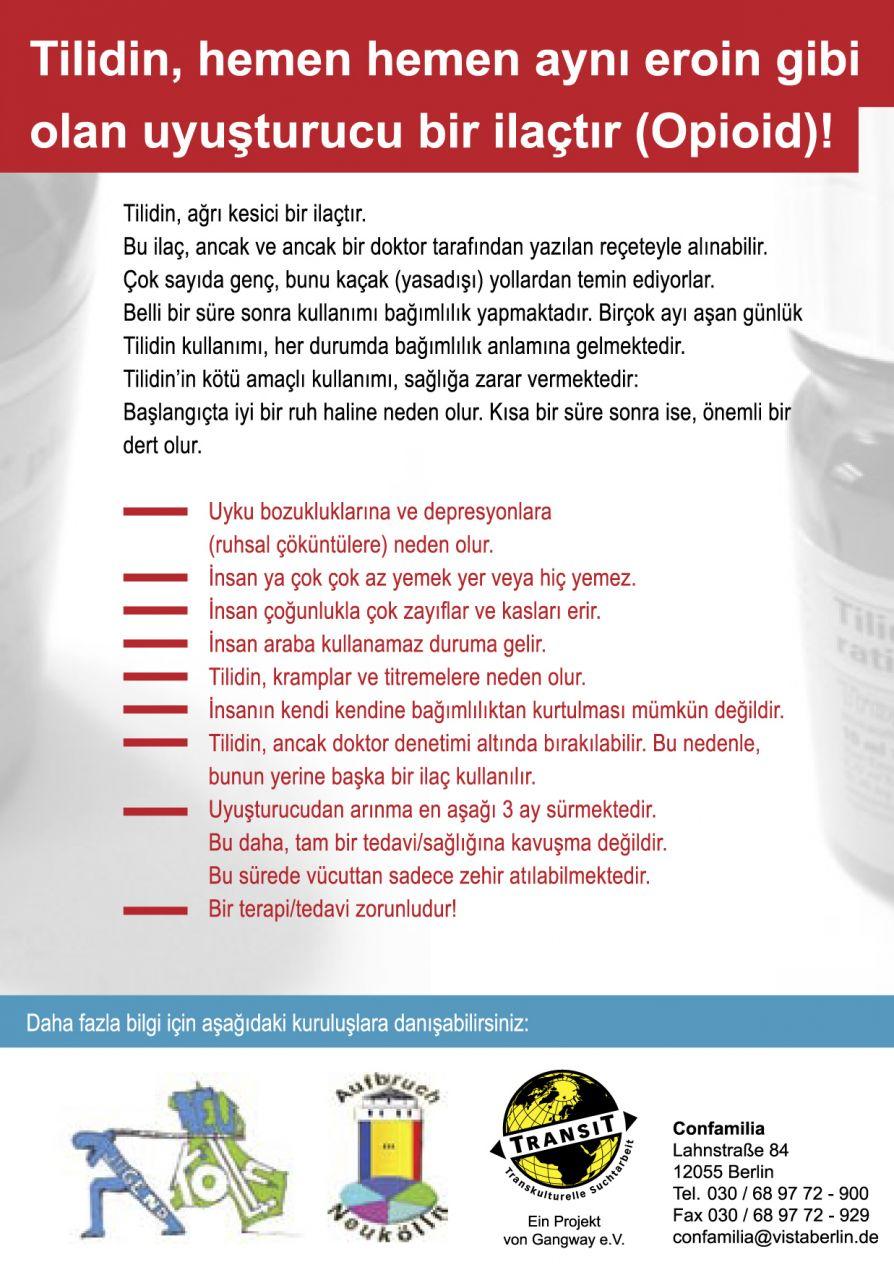 Ibuprofen zusammen man darf nehmen und tilidin Tilidin: Erfahrungen