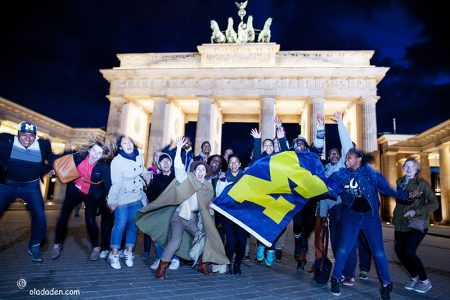 University of Michigan in Berlin 2016 gangway day one-crazy