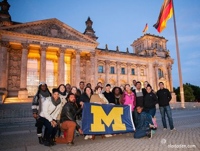 University of Michigan in Berlin 2016 gangway day one-three