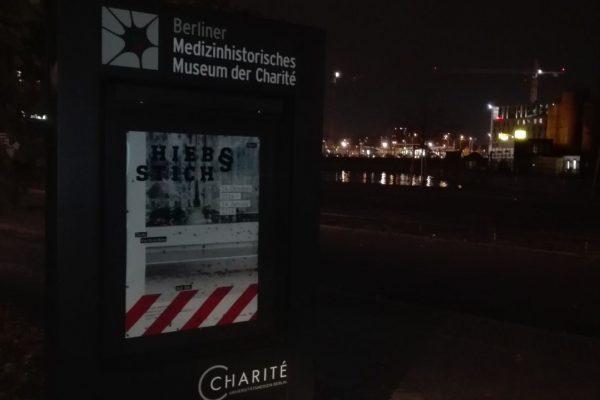 Ausstellung Hieb & Stich im Medizinhistorischen Museum