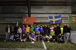 Abschlussfest in der Adidas Football Base 7