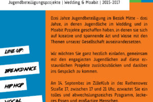"""""""Laut aus dem Kiez"""" Gangway Wedding und Tiergarten im Zilleklub am 14.09.2018 6"""