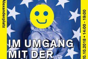 Sei stark im Umgang mit der Polizei - Veranstaltung am 20.10.2018 auf dem Alexanderplatz (bei den Wasserspielen) 1