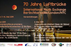 Vier Städte Jugendaustausch Marseille, London, NYC in Berlin...and so it begins! 1