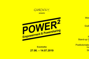 POWER² – Neue Eventreihe zu Empowerment & Powersharing 2