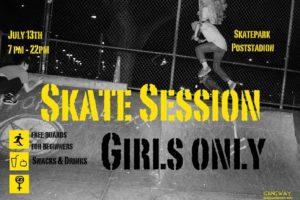 Skatesession - Girls only! 2