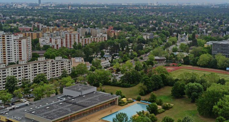 Gropiusstadt von oben